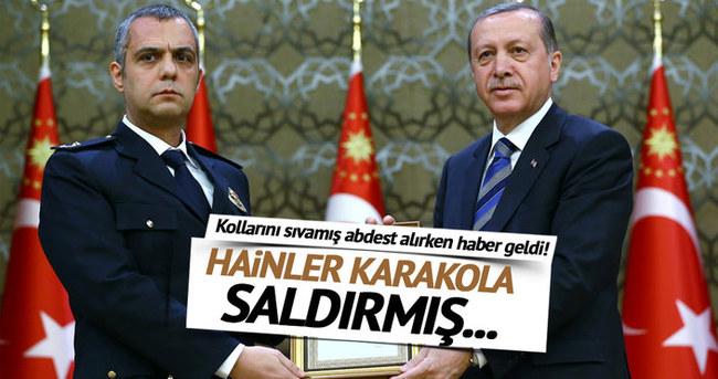 Cumhurbaşkanı Erdoğan o kahramanları kabul etti!