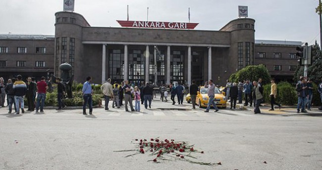 Ankara'daki gar saldırısıyla ilgili bir kişi yakalandı