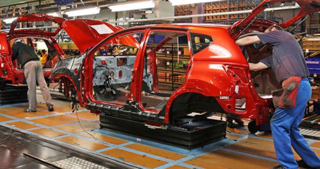 Otomotiv üretimi Mart'ta yüzde 4 arttı