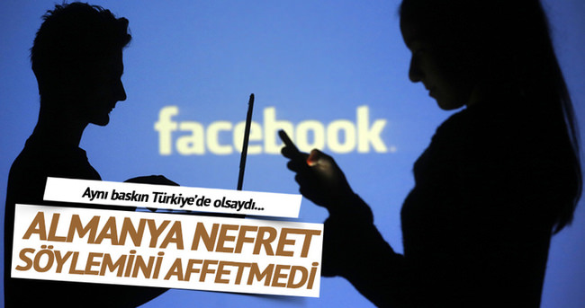 Almanya Facebook'ta nefret söylemini affetmedi