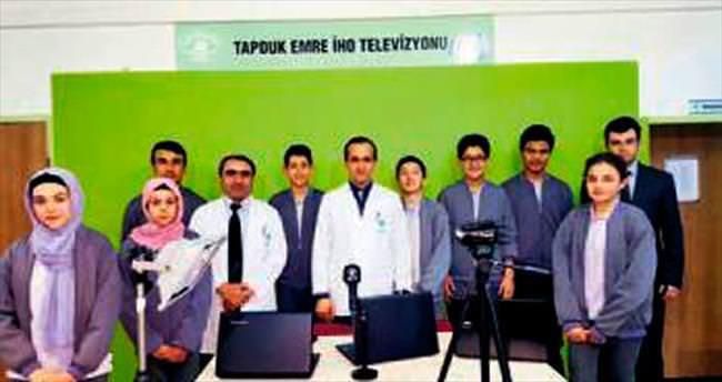 Okul TV 7/24 yayın yapıyor