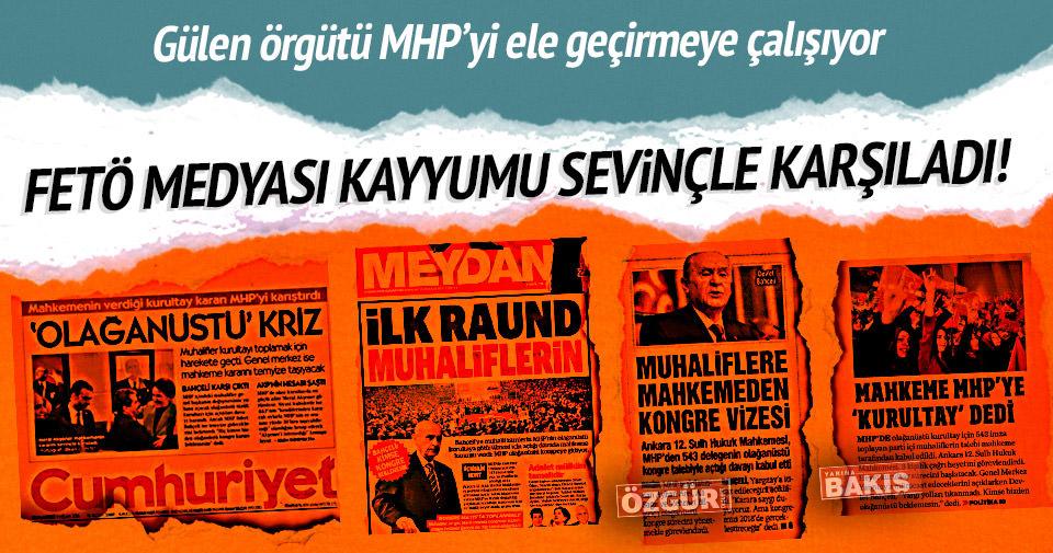 FETÖ medyası MHP'ye kayyumu sevinçle karşıladı