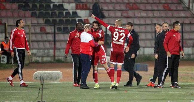 Sivasspor'da galibiyet sevinci