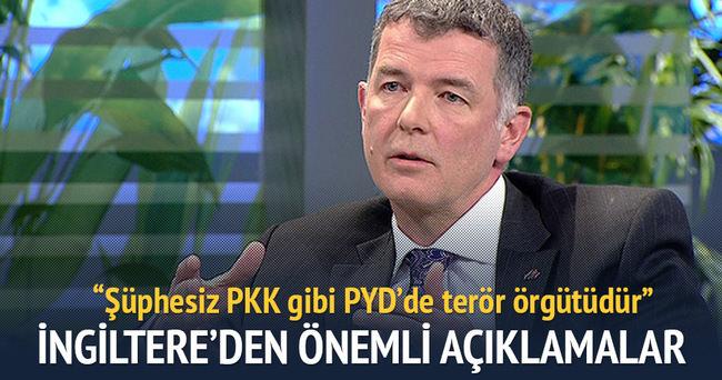 Moore, PYD'nin terör örgütü PKK ile bağlantısı olduğunu söyledi