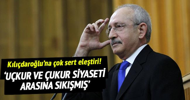 'Kılıçdaroğlu uçkur ve çukur siyaseti arasına sıkışmış'