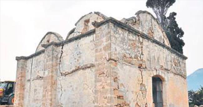Agios Vasileios Kilisesi restorasyonu başladı