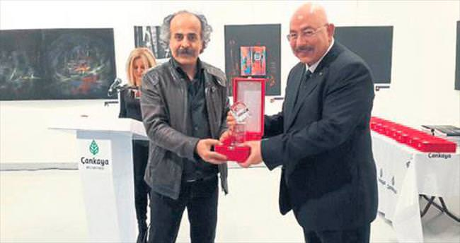 Sanatçılardan SANKO'ya ödül geldi