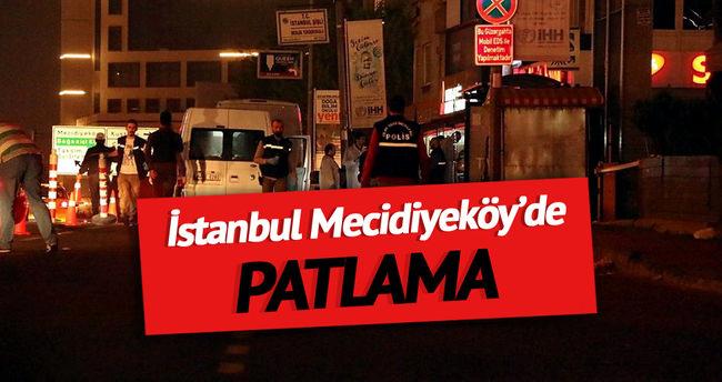 İstanbul Mecidiyeköy'de patlama
