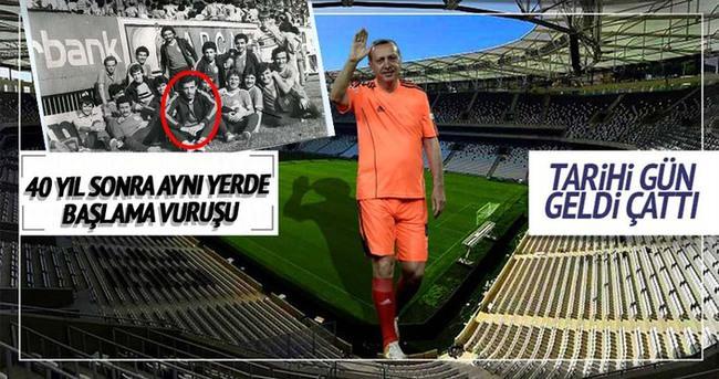 Vodafone Arena'da Cumhurbaşkanı ile müthiş açılış