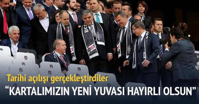 Cumhurbaşkanı Erdoğan: Beşiktaş gecikmiş hakkını elde etti