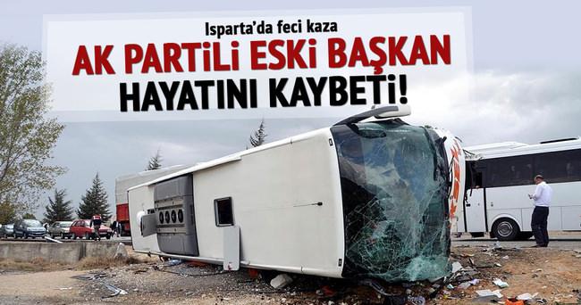AK Partili eski başkan hayatını kaybetti