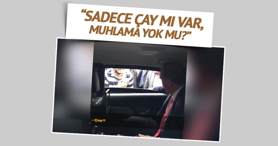 Erdoğan: Sadece çay mı, muhlama yok mu?