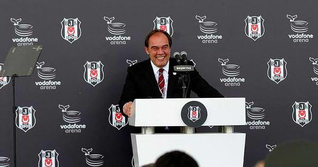 Vodafone Arena'nın açılışında Demirören'den güldüren dil sürçmesi