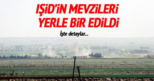 TSK Kilis'ten IŞİD'i vuruyor!