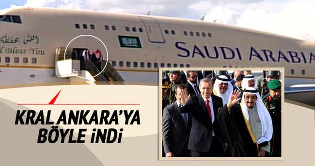 Suudi Kral Ankara'ya indi!