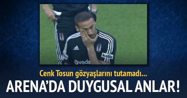 Cenk Tosun'un gözyaşları!