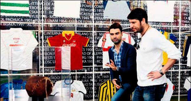 'Bu sergiyle eski futbol günlerimize döndük'