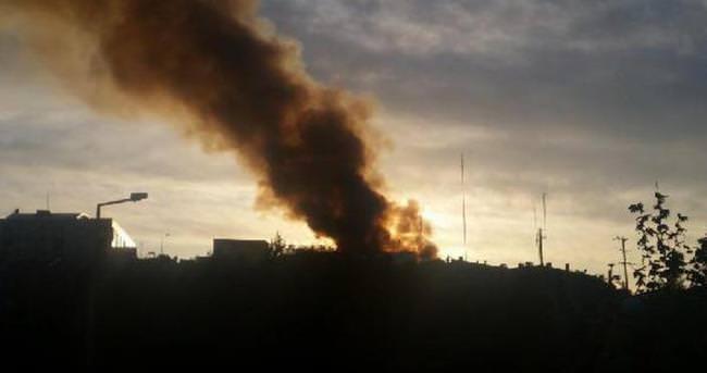 Urla Cezaevi'nde yangın
