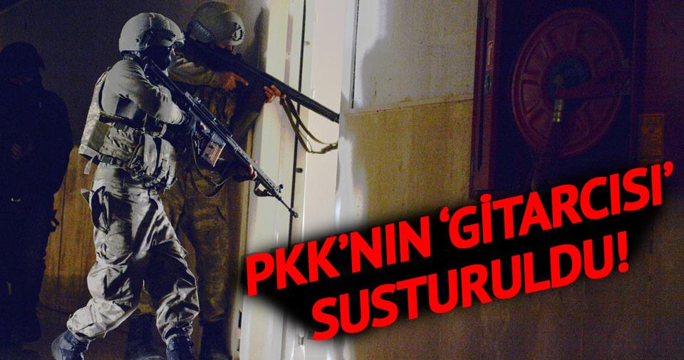 PKK'nın gitarcısı susturuldu!