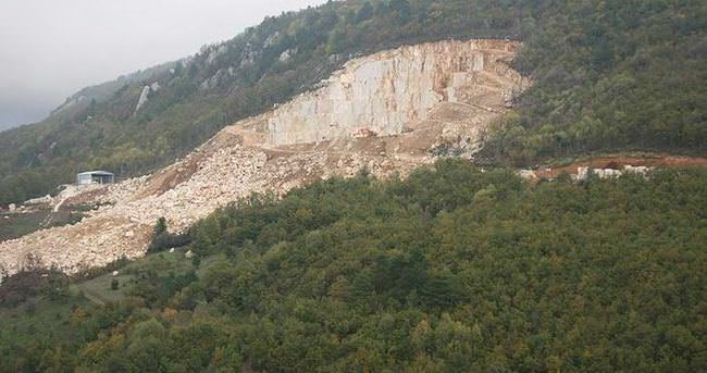 Taş ocağındaki patlamada 1 işçi öldü