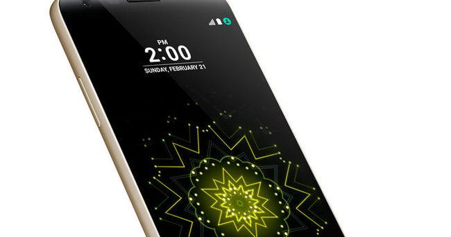 LG, ilk modüler akıllı telefonu G5'i tanıttı
