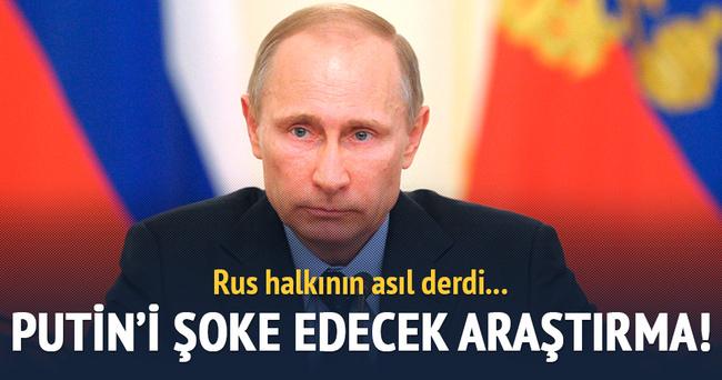 Rus halkının derdi ekonomik kriz!
