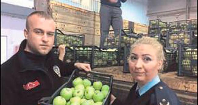 Isparta elmaları Siirt'te