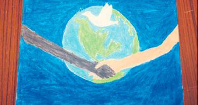 Çocuklar Taurus'ta barışın resmini çizecek