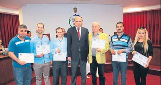 Torbalı'da 4 kurum kurslarını tamamladı