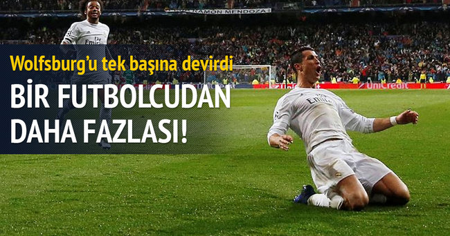 Ronaldo varsa her şey olağan