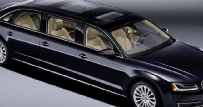 Yeni Audi A8 XXL Tam 6.36 Metre