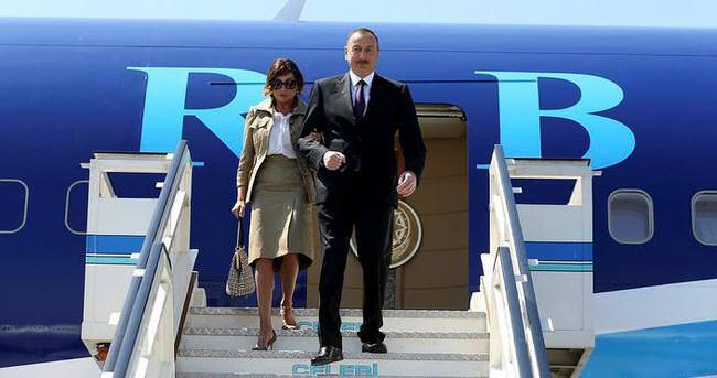 Azerbaycan Cumhurbaşkanı Aliyev, İstanbul'da