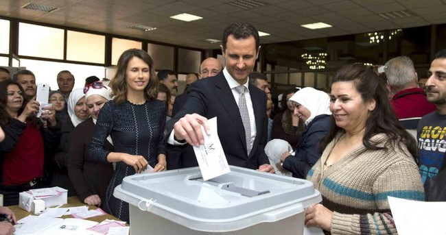 Suriye'de boş seçim