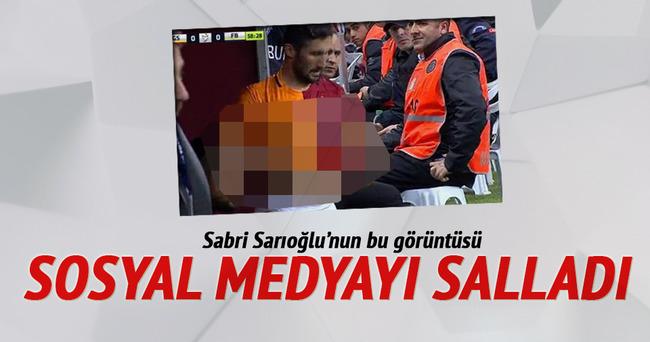 Sabri Sarıoğlu'nun bu görüntüsü sosyal medyayı salladı
