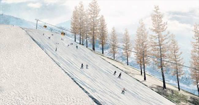 Karadeniz'in en büyük kayak merkezi olacak