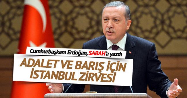 Adalet ve barış için İstanbul Zirvesi