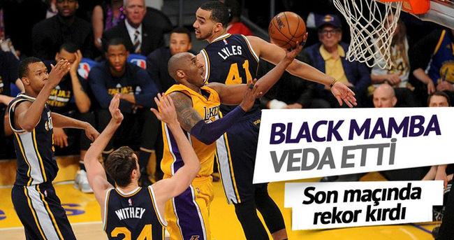 Kobe Bryant'tan 60 sayı ile veda