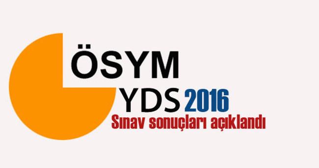 SON DAKİKA: YDS sınav sonuçları açıklandı. İlkbahar dönemi sınav sonuçları ÖSYM'nin sitesinde...