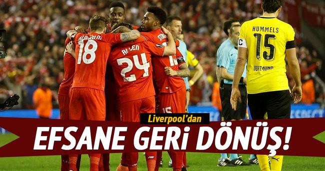 Liverpool'dan efsane geri dönüş!