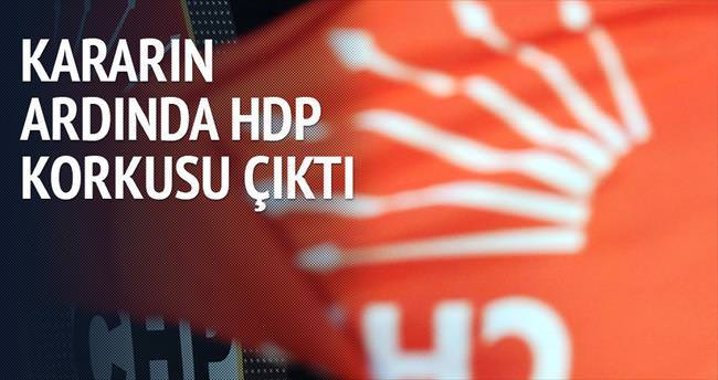 CHP'nin destek kararının ardında HDP korkusu çıktı