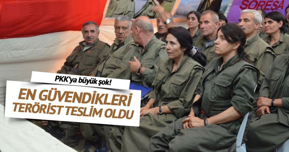 Cemil Bayık'ın en güvendiği terörist teslim oldu