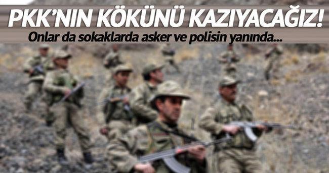 Köy korucuları: PKK'nın kökünü kazıyacağız