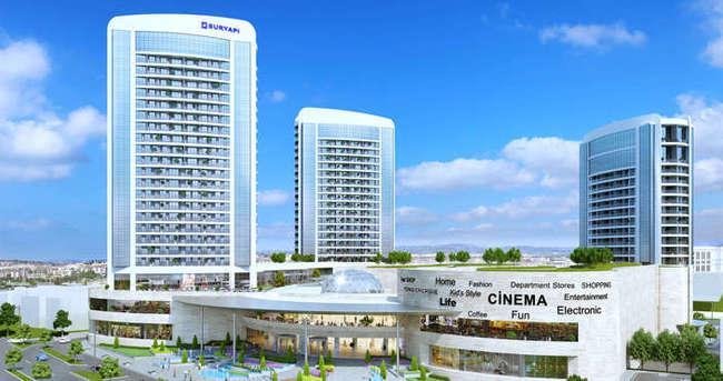 """Sur Yapı """"Marka AVM"""" de kiralamalar, rezidanslarda ise satışlar hızla devam ediyor!"""