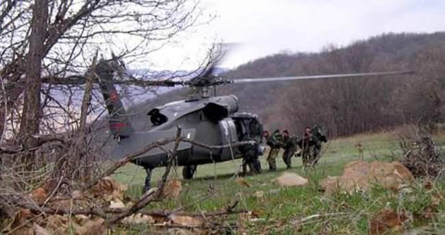 Tunceli'de eylem hazırlığındaki PKK'lılara operasyon