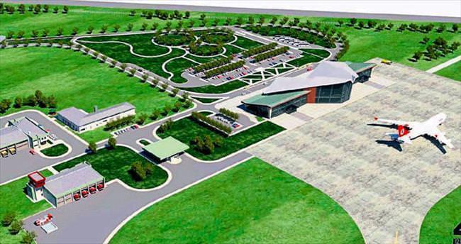 Başkan Uğur'dan havaalanı müjdesi
