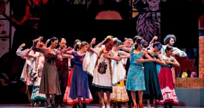 Frida Kahlo'ya dünya prömiyeri