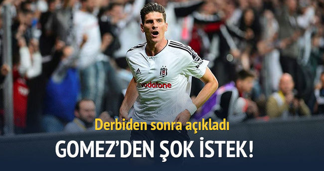Mario Gomez Beşiktaş yönetiminden erteleme istedi