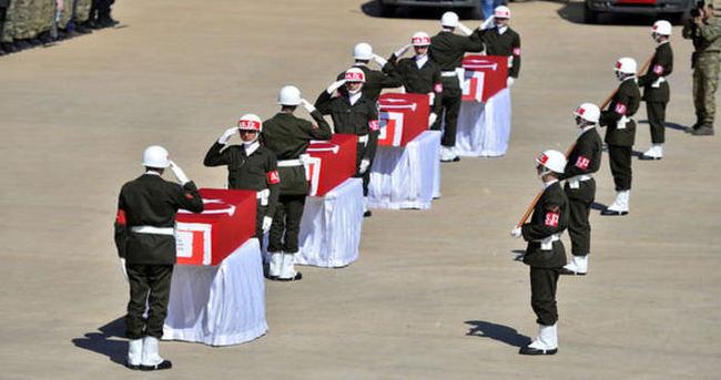 Mardin ve Şırnak'ta şehitler için tören
