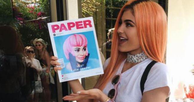 Kylie Jenner'ın yeni imajı