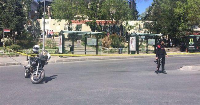 Beyazıt Meydanı'nda şüpheli çanta paniği